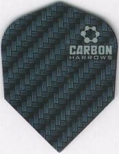 Blue CARBON Dart Flights: 3 per set
