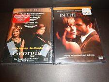 GEORGIA & IN THE CUT-2 movies-JENNIFER JASON LEIGH, MEG RYAN, MARE WINNINGHAM