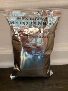 New FRESH Starbucks Matcha Blend Sweetened Green Tea Powder 17.6 oz Nov 2021