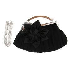 Fashion Handbag Flower Clutch Purse Woman Ladies Chain Shoulder Wallet Bag Gift