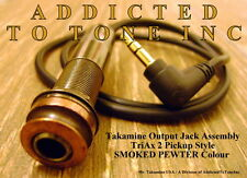 Genuine Takamine Acoustic Guitar TriAx Pickup Jack / Cable Assembly OEM NEW !