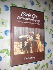 Colt Starting - Chris Cox - 3 DVD BOXED SET horse training dvd