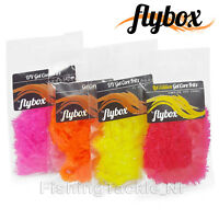 Flybox Gel Core Fritz 15mm Hi-Vis Professional Fly Tying Material
