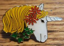 Vintage Unicorn Hat Lapel Pin