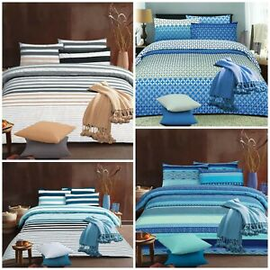 Bold Brush Collection Duvet Cover Bedding Set Quilt Cover Pillow Cases All Sizes