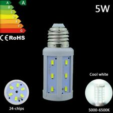 5W LED bulb e27 cool white Energy Saving Globe Spot Light corn Lamp SMD 220-240V