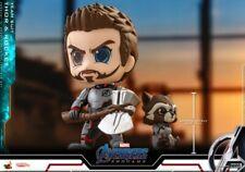 Thor+Rocket Raccoon Figures Hot Toys Cosbaby Bobble-Head Avengers:Endgame Dolls