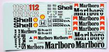 1/18 Mclaren Honda Mp4/4 Tamiya Ayrton Senna Model Car waterslide decal sticker