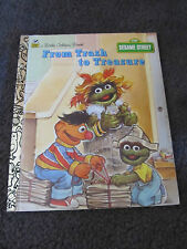 LITTLE GOLDEN BOOK...Hardcover book...1993  From Trash to Treasure
