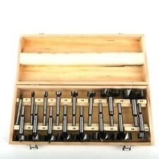 New 16pc Forstner Drill Bit Set Woodworking Hole Saw Wood Drilling Tool Bit Pro