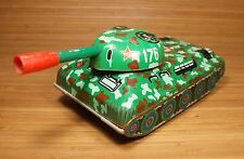 Vintage Tank Tin Toy Battery Operated 1970's Nos Ussr Soviet Era