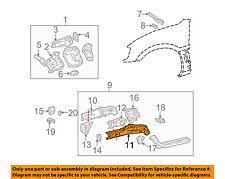 TOYOTA OEM 01-05 RAV4 Fender-Inner Rail Right 5711142050