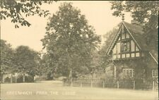 Greenwich Park. The Lodge.  RH.905