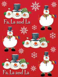 4 x Snowman Christmas Craft Card Making Sticker Sheets CLEARANCE SALE PRICE