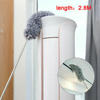 Telescopic Extendable Feather Duster Extra Long Handled Brush Dusters Cobweb NEW