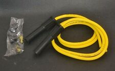 "TAYLOR SUMAX 86485 YELLOW PRO COMP 8mm 36"" SPARK PLUG WIRE SET DEEP BOOT GSXR"
