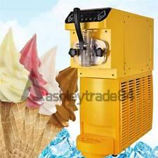 110V Automatic Ice Cream Maker Mini Soft Ice Cream Machine Vertical One-head
