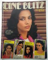 Cineblitz Feb 1984 Shabana Mandakini Rati Smita REKHA Reena Kamal Leena Sunny
