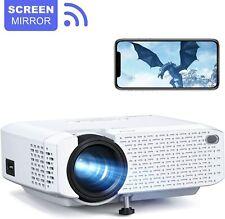 Full HD 1080P 3500 Lumens Wireless WiFi Portable Mini Home Movie Projector HDMI