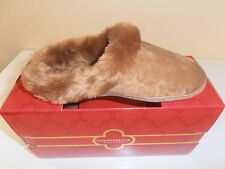 CHARTER CLUBS SLIPPERS SIZE 5-6 SMALL BROWNS CHEAP & GORGEOUS!!