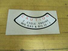 Vintage NOS Speedway Mini Bike Super Spyder Silver Shadow Gas Tank Sticker