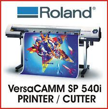 ROLAND PRINT AND CUT - ROLAND VersaCAMM SP 540i - PROTECH CNC