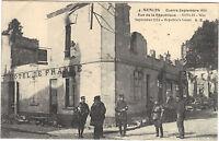 60 - Cartolina - Senlis - Guerre Settembre 1914 - Rue da la Repubblica