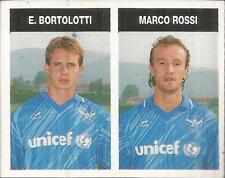 [AA] FIGURINA CAMPIONI & CAMPIONATO 1990/91-BRESCIA-BORTOLOTTI-ROSSI