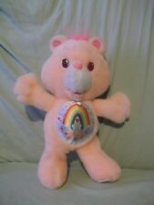 "13"" Pink Cheer Care Bear  1991 Kenner no label"