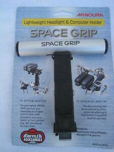 Minoura SPACE GRIP Bicycle Handlebar Light Computer Camera Mount holder bar NEW