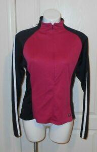 Women's SHEBEEST Long Sleeve  Cycling Jersey  Sz XL PINK