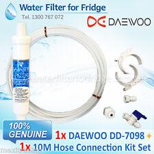 1x Daewoo External Fridge Water Filter DD-7098 + 10M 1/4 inch Hose Kit Set
