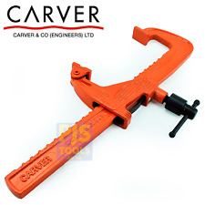 Carver cramp T186 300mm 12in T186-300 welders rack clamp heavy forged CRVT18612