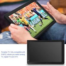 "12"" Portable Digital Analog Fernseher HD LED TV DVB-T/DVB-T2 für Auto draußen ✿"