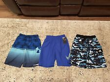 Boys Size Medium Swim Trunks Underarmour, Nike And Adidas