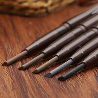 Waterproof Eyebrow Pen With Brush Eye Brow Pencil Eyeliner Makeup Cosmetic new #