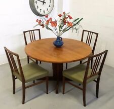 Teak Vintage/Retro Up to 4 Seats Table & Chair Sets