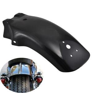 Black Universal Rear Fender Mudguard Guard Solid For Yamaha V-Star 650 1100 1300