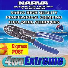 NARVA 56508 PROFESSIONAL CRIMPING TOOL, WIRE STRIPPER CRIMPER STRIPPING CUTTER