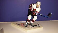 MARIAN HOSSA Ottawa Senators Autographed Signed McFarlane Figure Hockey COA NHL