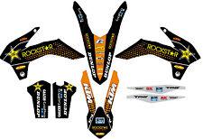 KTM GRAFICHE STICKERS ROCKSTAR  EXC 2014 2015 SX 2013 2014 VARI ANNI E MODELLI