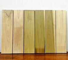 """1 inch thick poplar lumber 6 pcs kiln dried boards 5 ¾"""" W x 23 1/2"""" L shelf 1"""""""