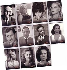 "James Bond Mission Logs: 11 Card ""Bond Allies Expansion"" Chase Set BA35-BA45"