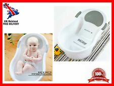 Baby Bath Tub With Built in Anti Slip Seat Soft Headrest Support