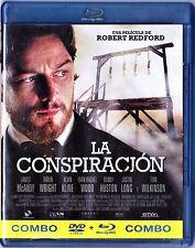 LA CONSPIRACIÓN de Robert Redford. BLU-RAY y DVD Tarifa plana envío España, 5 €