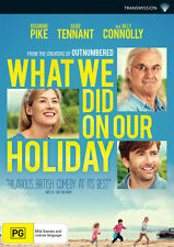 What We Did On Our Holiday NEW DVD Rosamund Pike David Tennant Billy Connolly