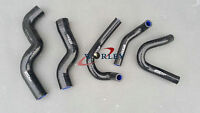 For Holden Rodeo TF 2.8L Turbo Diesel 98-03 Silicone radiator heater hose BLK