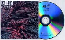 ANNIE EVE Basement 2014 UK 2-track promo test CD