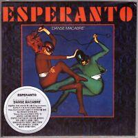 ESPERANTO Danse Macabre CD Top Prog Rock w/3 Bonus Tracks—Mini LP Sleeve,Gold CD