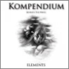 KOMPENDIUM – ELEMENTS  (BENEATH THE WAVES) ROBERT REED 2013 2 CD LTD EDT SEALED
